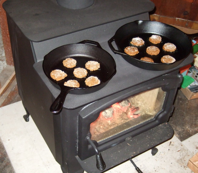 The Stove - How To Cook On A Woodstove Farm Folly