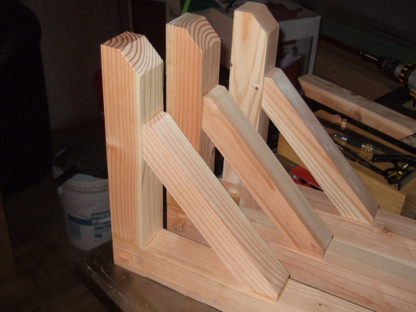 Arts And Crafts Corbels: Building Corbels